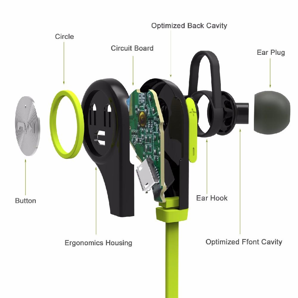 sports bluetooth wireless earphones q9 long calling time bluetooth headset buy bluetooth. Black Bedroom Furniture Sets. Home Design Ideas