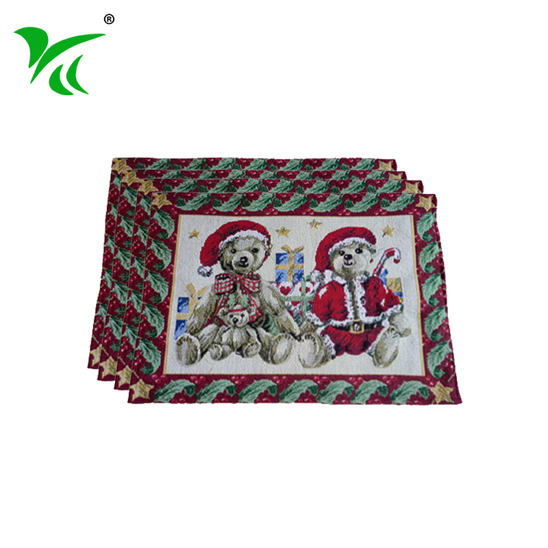 Alibaba suppliers best tapestry woven cloth mats table placemat