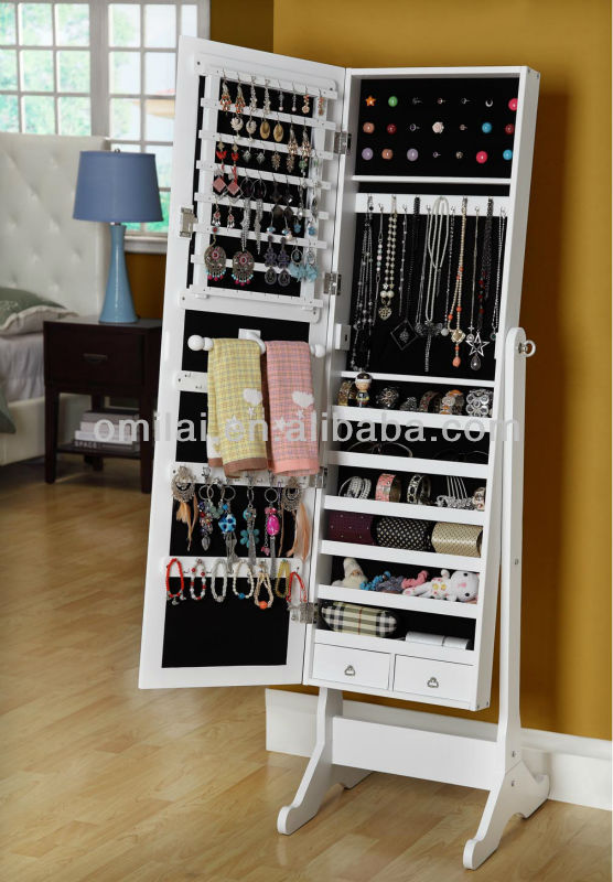 placard a bijoux finest pcs w led bijoux vitrine clairage. Black Bedroom Furniture Sets. Home Design Ideas