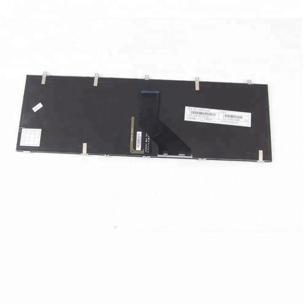 New for Clevo W350 W350ET W350SK W350SKQ W350ST Keyboard US Backlit