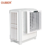 OUBER air cooler 12000m3/h window type industrial air conditioners for office