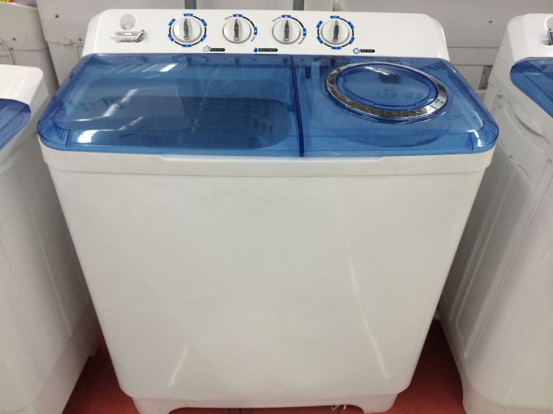 Washing Machine With Dryer Part - 36: 4kg Twin Tub Portable Mini Washing Machine With Dryer