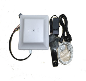 wall mount waterproof long distance 2m WG rs232 rs485 smart ic card uhf rfid reader for parking access control