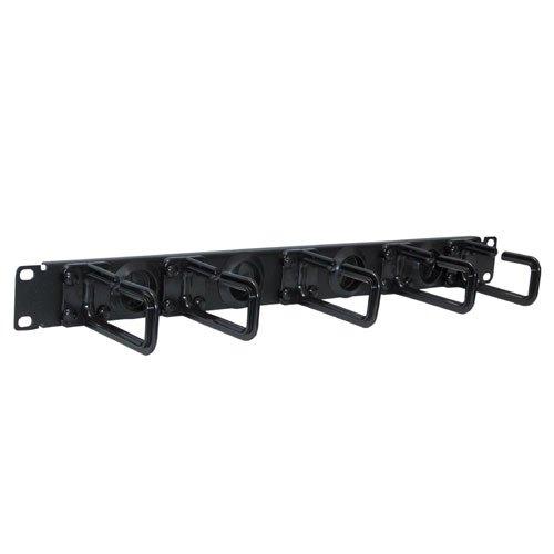 Tripp Lite SRCABLERING1U Rack Enclosure Cabinet Horizontal Cable Ring Flexible 1URM
