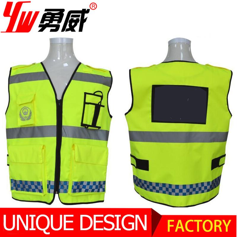 Wear Security Guard Vest