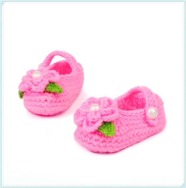 Venta al por mayor patron de zapatos para bebes crochet-Compre ...