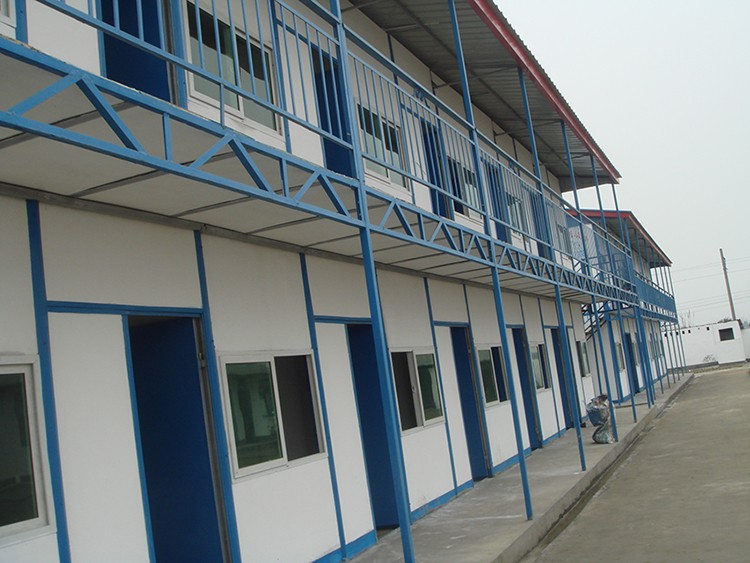 two storey labor camp