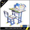 Ergonomic height adjustable corner desk and chair, children writing desk