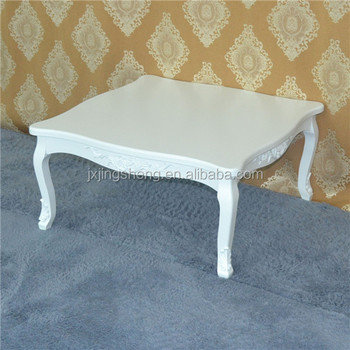 Turkish Style Furniture Oak Wood Cream Coffee Table Used Tables And