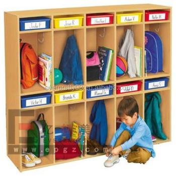 Wholesale Cupboard Kids Toys Cabinet For Kindergarten Furniture