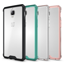 2017 Wholesale Sofa transparent TPU PC Shockproof Phone Case For Oneplus3 3T Case Cover