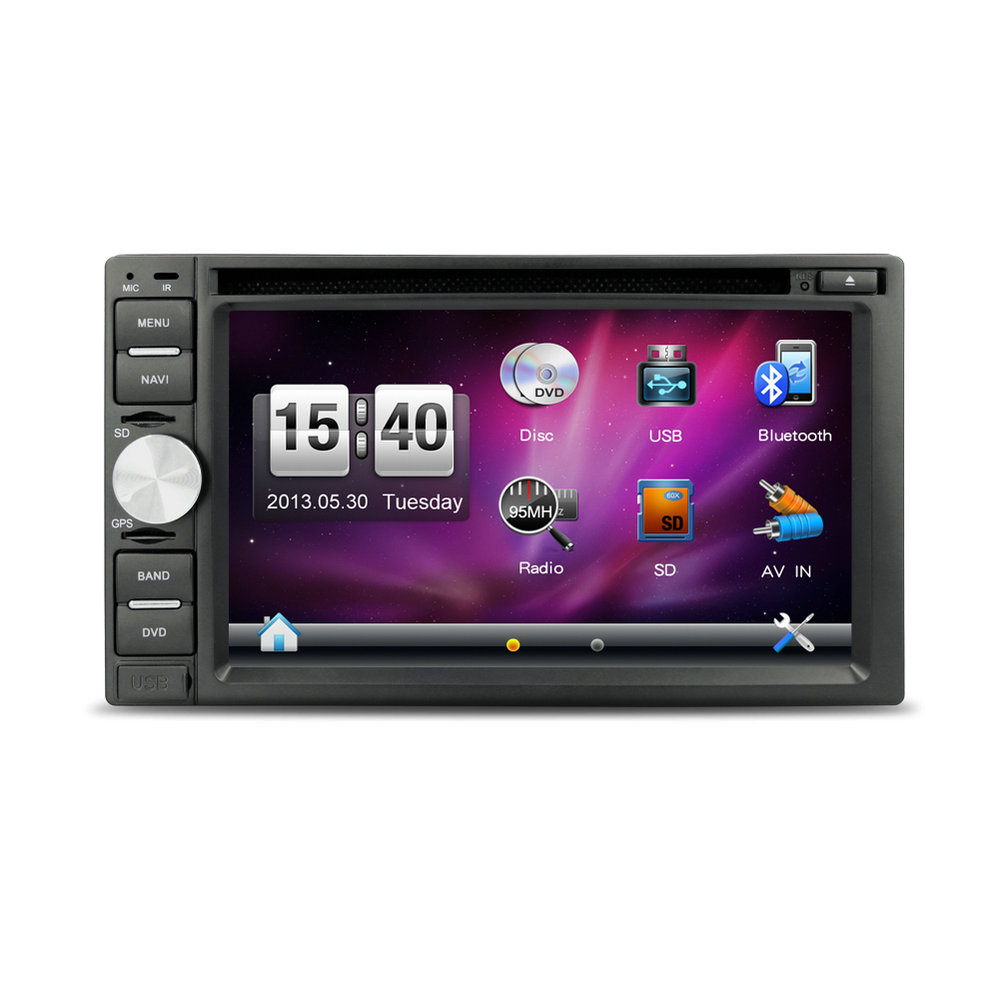 6.2inch Touch Screen Car Radio TV DVD for Pathfinder with GPS Navigation TV Optional