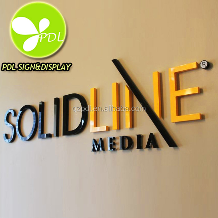 Flat Laser Cut 3d Acrylic Letters Sign & Logos For Custom Lobby Signs - Buy  Flat Cut Acrylic Letters,Acrylic Letter Sign,Acrylic Letter Product on  Alibaba. ...