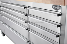 "BISINI Working tool chest 72"" stainless steel storage box tool cabinet(BG10-M547)"