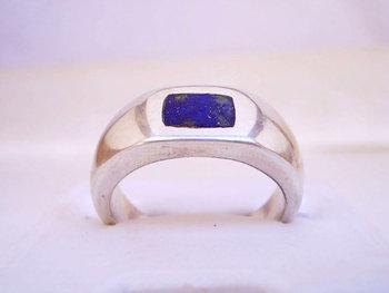 Lapis Lazuli lajward Engagement Wedding Ring For Men In 25