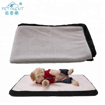 Pet mat crate mat dog bed cover for no filling
