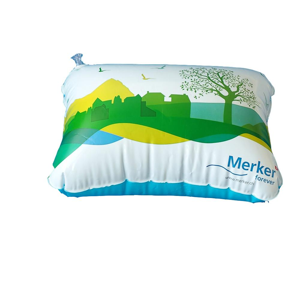 inflatable pillow with logo printing