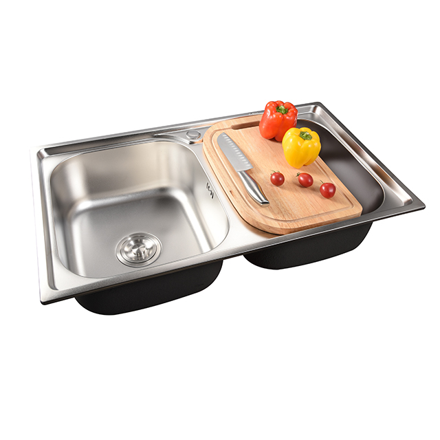 Stainless steel kitchen sink double bowl sink cheap