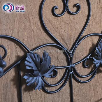 Vintage Bar Furniture Handmade Crafts Wall Mounted Wrought Iron