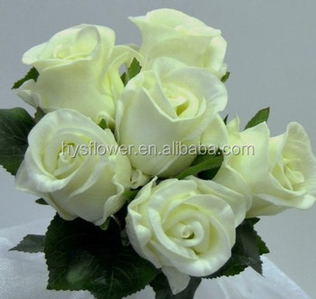 Bouquet De Fleurs En Gros De Fleurs Artificielles Blanc Rose Bleu