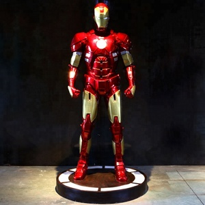 Movie Figure Model/Wholesale Antique crafts(SDIR01) high quality resin statue fiberglass model/ Movie Superhero Iron Man models