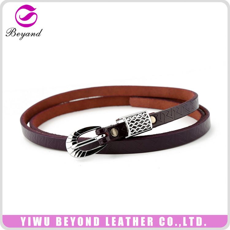 Professional custom design ladys leather belt with good offer