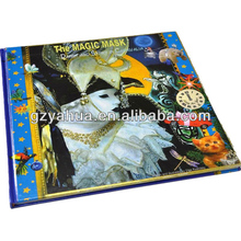 best selling laminate book hardcover for factory hot sales