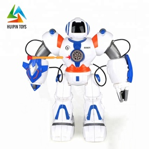 hot sale 2839 remote control plastic kids intelligent robot toys