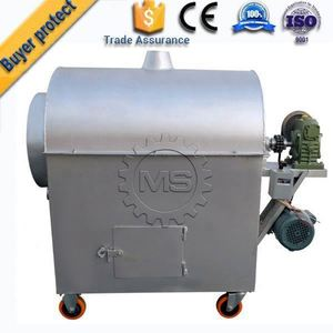 hot top quality chocolate coated peanut roasting machine
