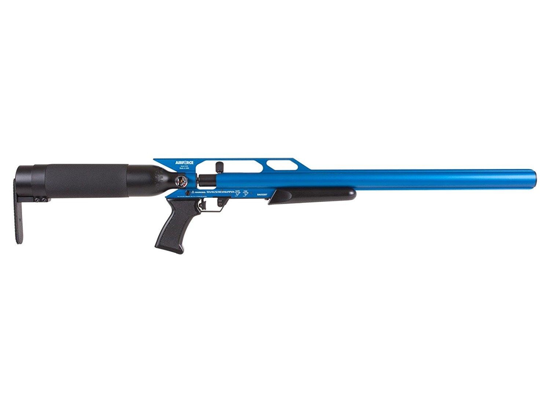 AirForce Condor SS PCP Air Rifle, Spin-Loc, Blue air rifle