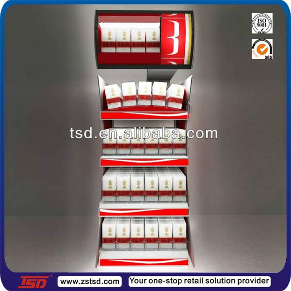 Tsd-m831 Custom High Quality Overhead Cigarette Rack/cigarette ...