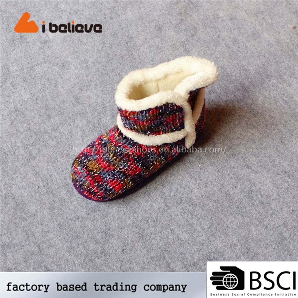 Fashionable good and cheap boots soft sole charming shoes made in China