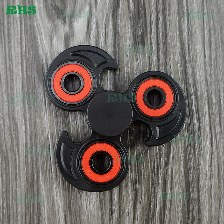 New Items 2017 Tail Spinner,rainbow color Metal Spinner OEM hand fidget spinner Spin 1.5-7 mins