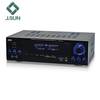AV 1358 Powerful Amplifer Stereo Digital Karaoke Audio Amplifier Cabinet  For Home Use