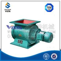 Discharge granular check valve