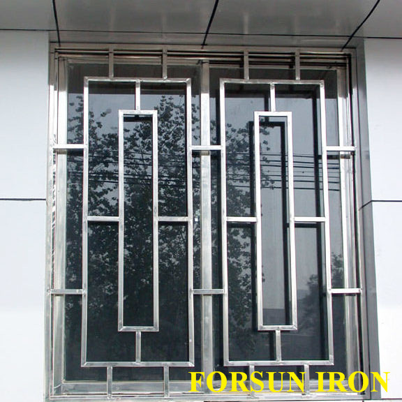 Simple window grills joy studio design gallery best design for Exterior window grill design