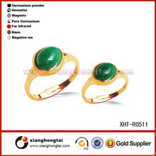 Wholesale jewelry magnetic costume plastic stone ring
