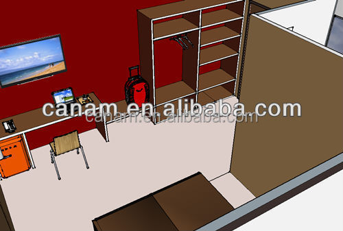 CANAM-casas pre fabricadas easy assembly prefab house