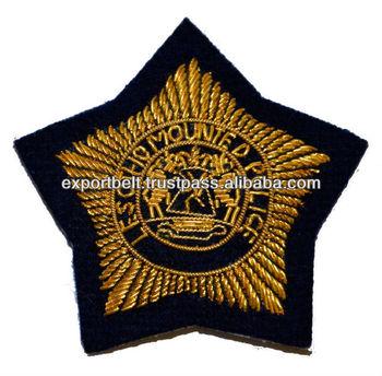 Bullion Blazer Badges | South Africa Military Uniform Badges - Buy  Embroidered Bullion Wire Blazer Badges,Military Bullion Badges,Handmade  Blazer