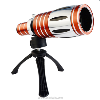 Hot 50x Optical Zoom Lens And Tripod For Iphone 6 50x Telescope