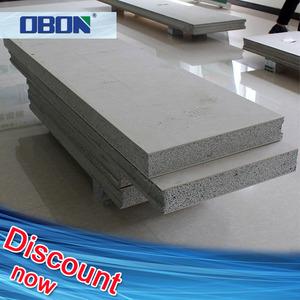 Fireproof polystyrene foam cement composite board sandwich prefab concrete  eps panels prices
