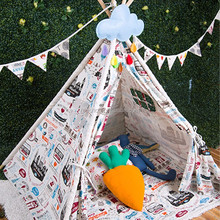 Wholesale Cotton Canvas Camping Toy Teepee Tent