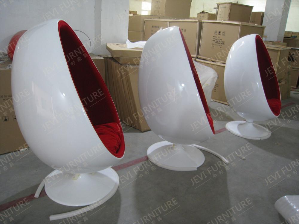 Swivel egg chair fiberglass egg chair hotel visitor chair buy chair hanging chair baby chair - Fiberglass egg chair ...