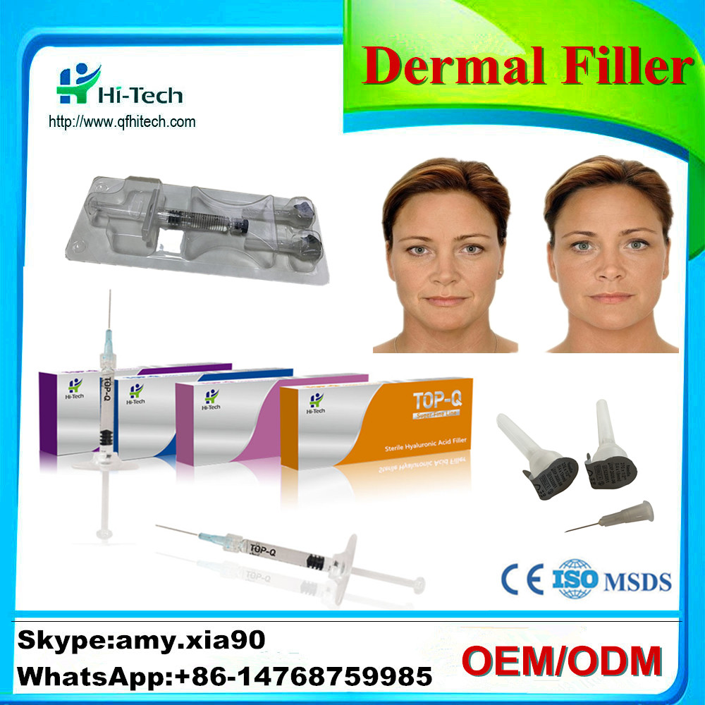 Wide Use Plastic Surgery TOP-Q 2CC <strong>Natural</strong> HA Dermal Filler Injectable