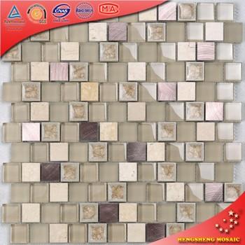 Self adhesive glass mosaic wall tiles