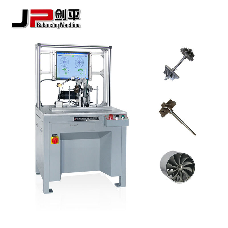 Precision Machined Turbocharger Impeller Balancing Machine