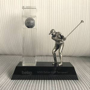 Americas large metal designs awards golf trophy cup