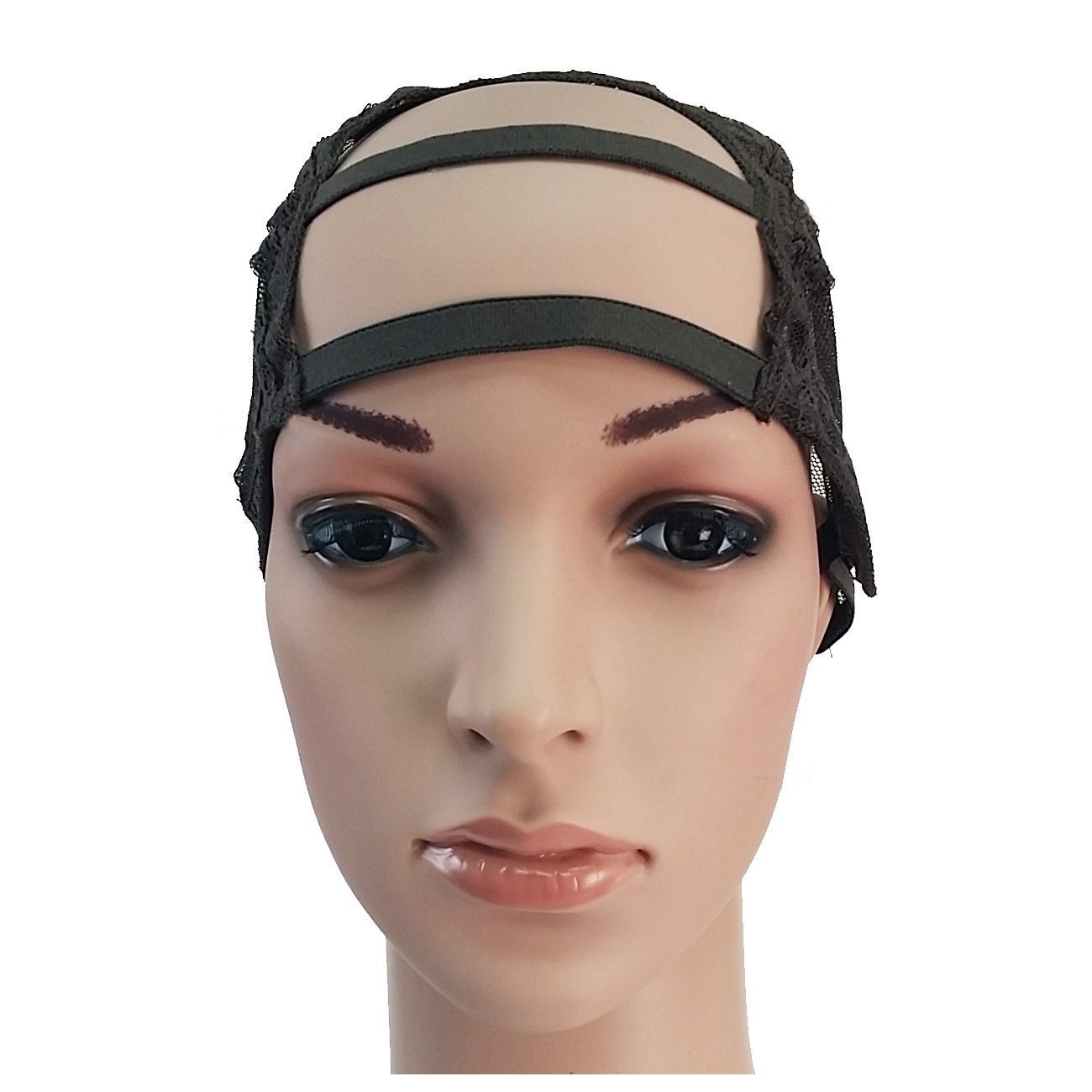 Beauties Factory BF DIY U Part Gap Wide Front Middle Weaving Wig Cap Net Mesh Adjustable Strap CODE: 1238F