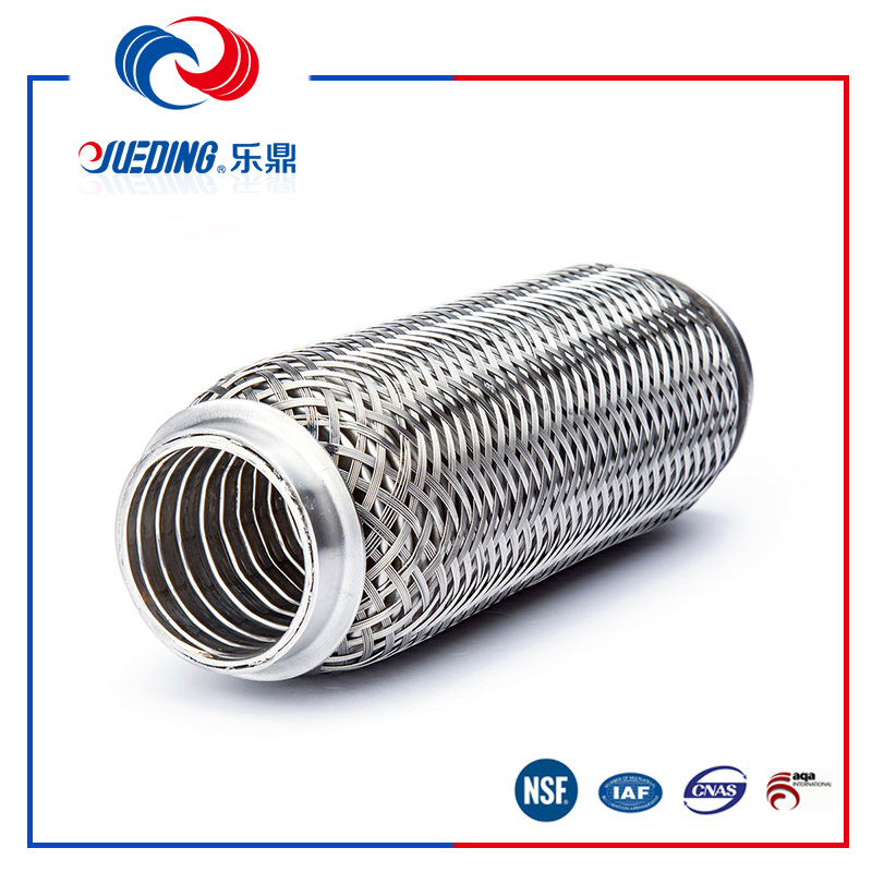 stainless steel exhuast connector oval exhaust pipe