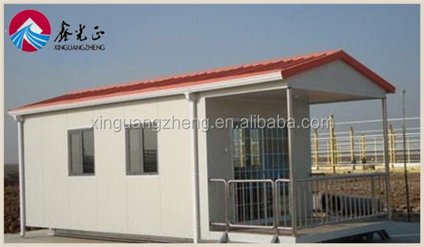 cheap metal sandwich panel prefab house